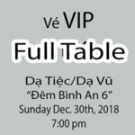 Christmas 2018 - VIP Table