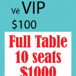 Full Table VIP: $1000